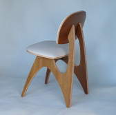 Side View of Reef Chair by Costello Design Tasmania