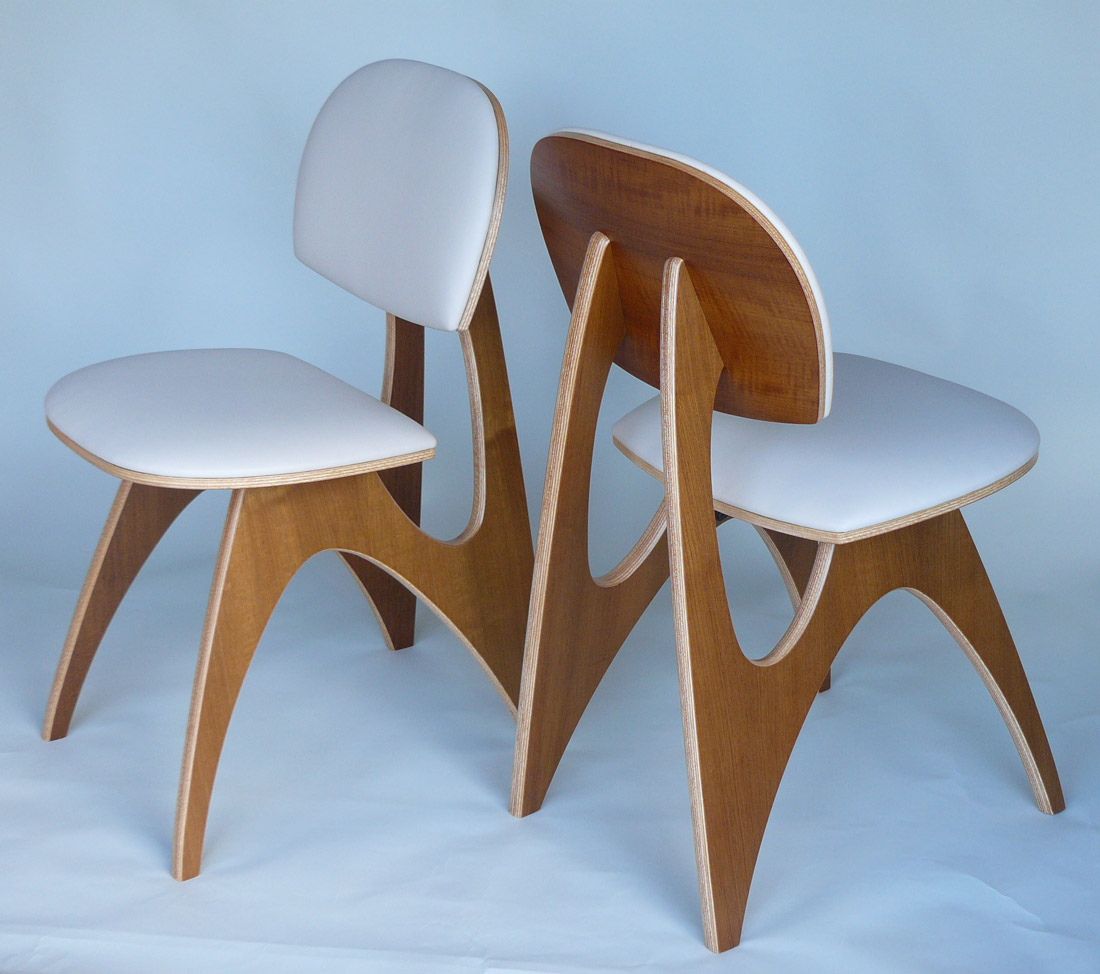 Charmant ... Pair Of Reef Chairs By Costello Design Tasmania