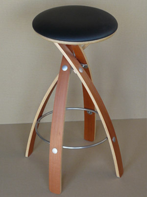 Stave Stool by Witt Design - Contemporary Tasmanian Furniture