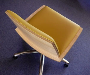 Lemon Locus Chair